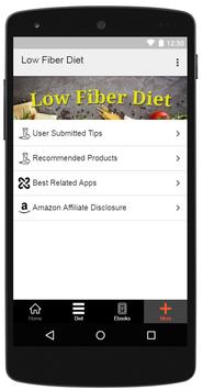 Low Fiber Diet screenshot 11