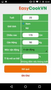 Giảm Cân LowCarb apk screenshot