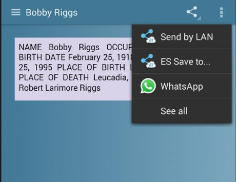 Bobby Riggs screenshot 4