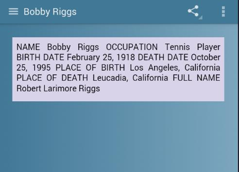 Bobby Riggs screenshot 3