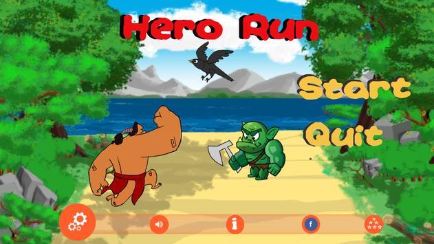 Hero Running poster