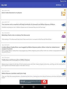 Milton Keynes Local News apk screenshot