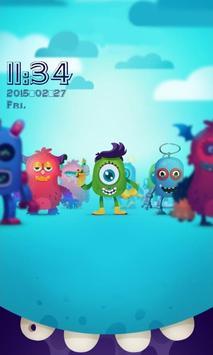 Little Monster Locker poster