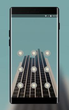 Lock theme for asuszenfone5 building wallpaper screenshot 1