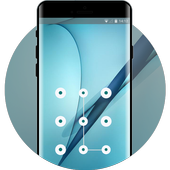 Lock heme for samsung galaxy s9 business wallpaper icon