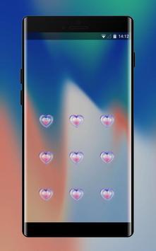 Lock themes for Iphone5 abstract art wallpaper screenshot 1