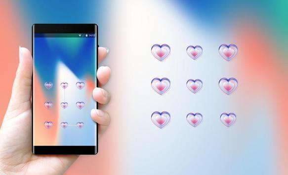 Lock themes for Iphone5 abstract art wallpaper screenshot 2