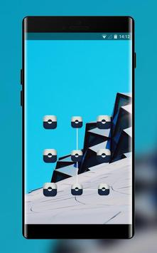 Lock theme for xiaomi redmi note wallpapaper poster