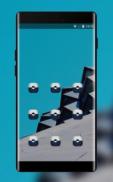 Lock theme for xiaomi redmi note wallpapaper screenshot 1