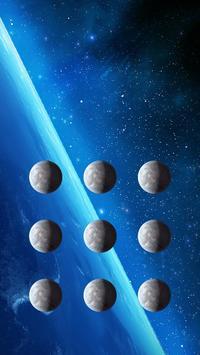 Earthview App Theme Space Pin Lock Screen poster