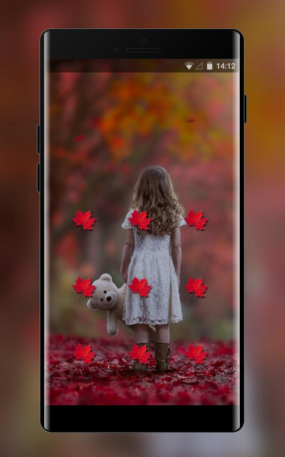 Lock theme for emotion oppo a83 forest wallpaper for Android