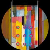 Lock theme for stylish huawei p20 wallpaper icon