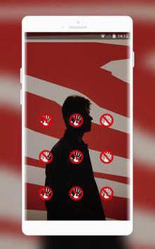 lonely man shadow theme wallpaper screenshot 1