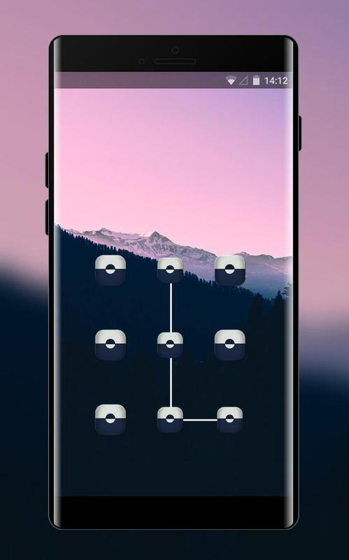 Lock Theme For Samsung Galaxy J7 Prime Wallpaper Poster