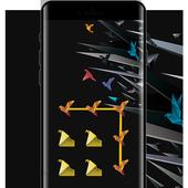 Crane APP Lock Theme Abstract Pin Lock Screen icon