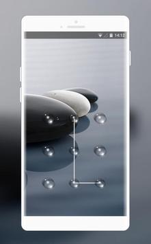 Lock  theme for lenovo k8 water clean wallpaper poster