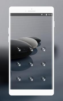 Lock  theme for lenovo k8 water clean wallpaper screenshot 1