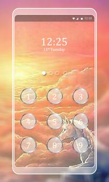 Unicorn Keypad LockScreen poster