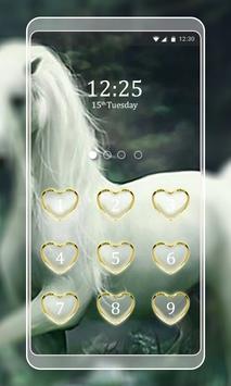 Unicorn Keypad LockScreen screenshot 1