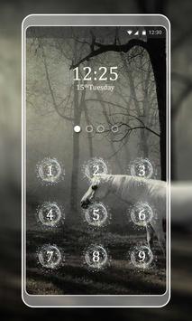 Unicorn Keypad LockScreen screenshot 2
