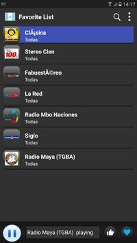 Radio Guatemala 2018 screenshot 2