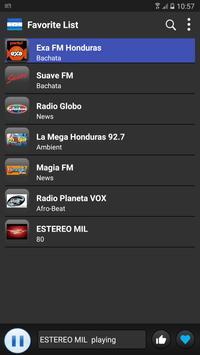 Radio Honduras 2018 - Best Stations apk screenshot