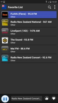 Radio New Zealand 2018 apk screenshot