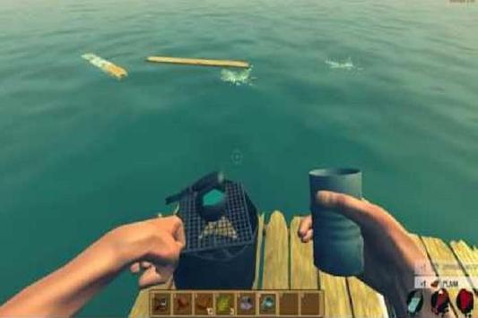 Tips RAFT Survival Simulator apk screenshot