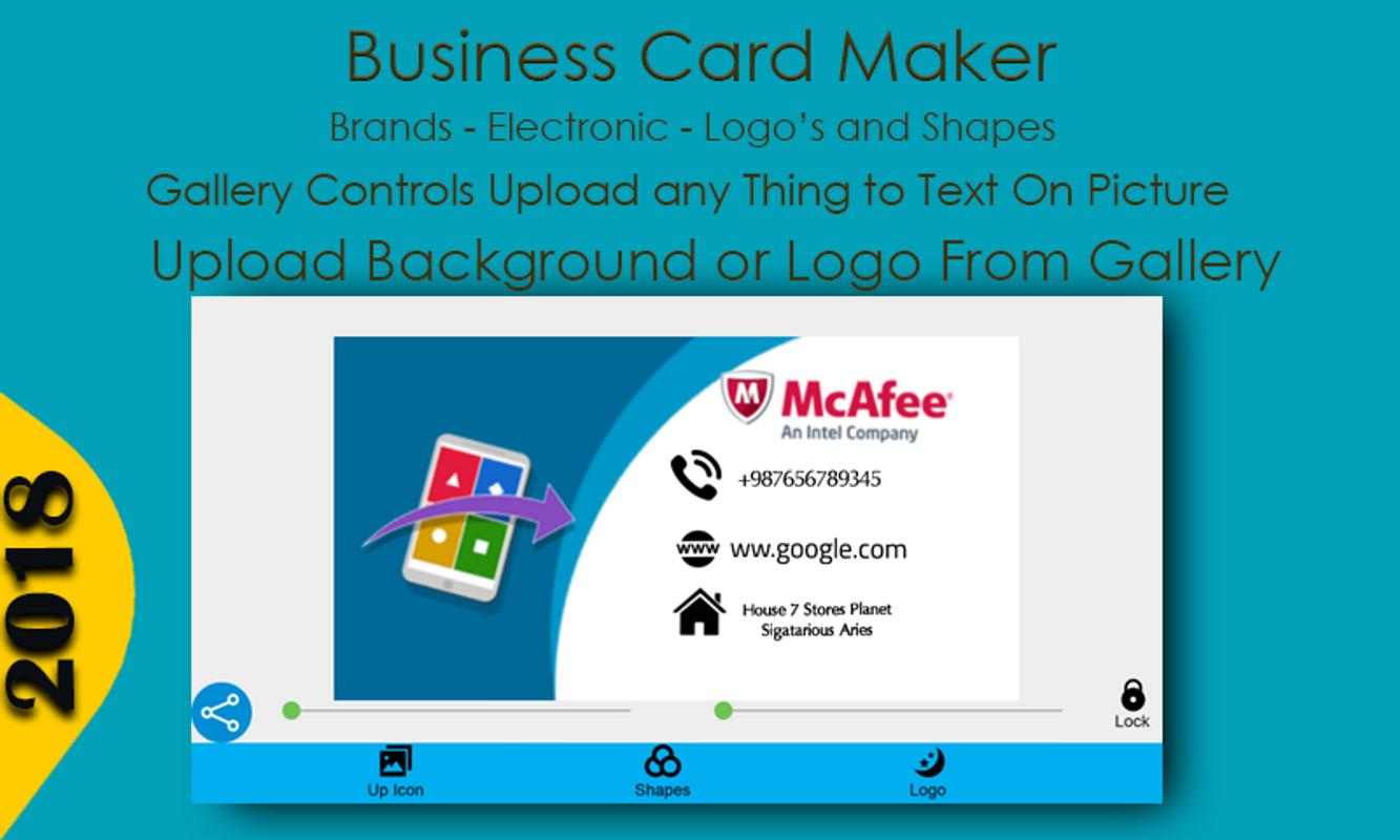 Business card maker for android apk download business card maker screenshot 6 colourmoves