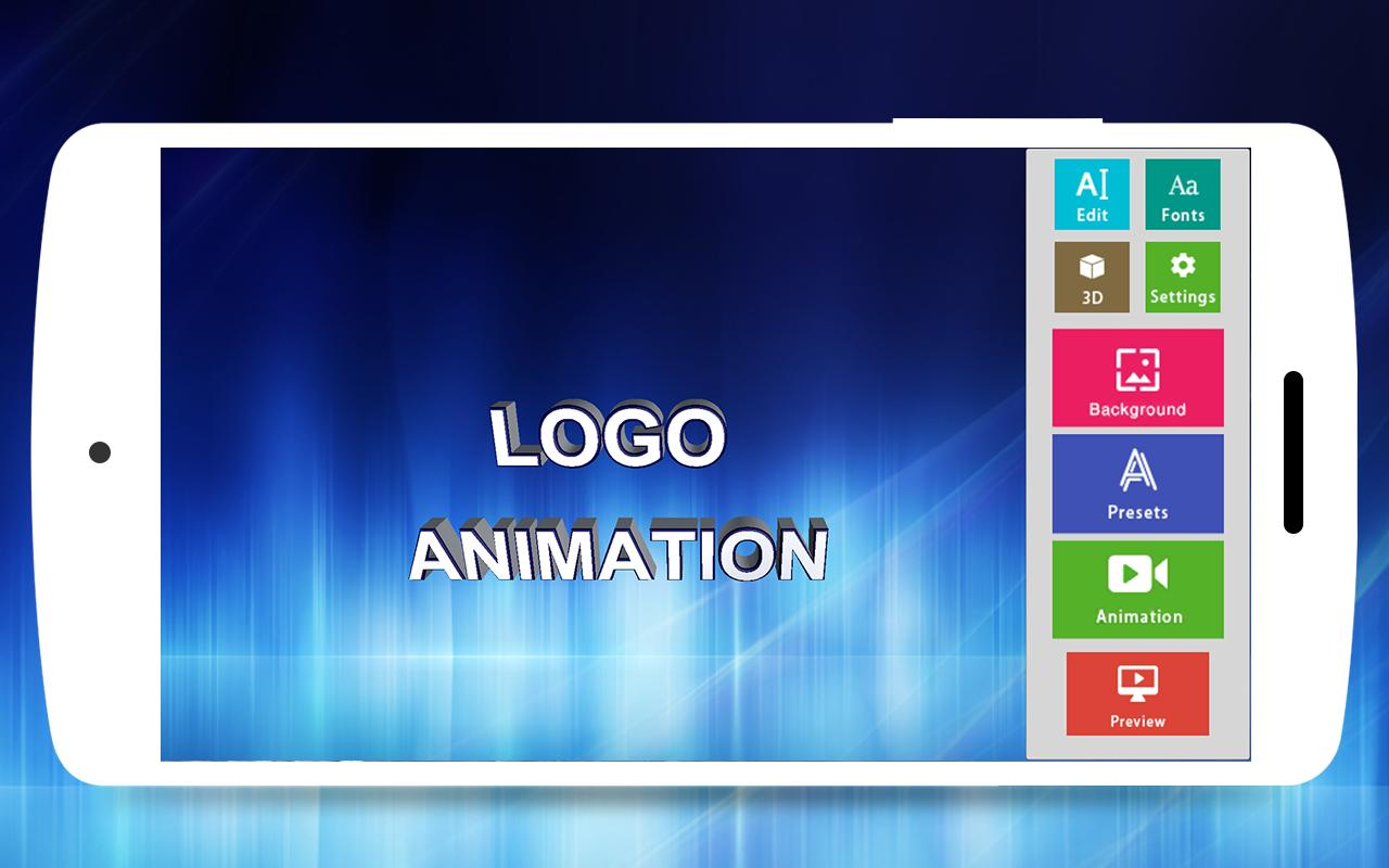 3D Text Animator - Intro Maker, 3D Logo Animation for