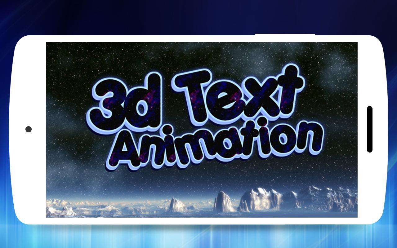 Download aplikasi bahasa indonesia 3D Text Animator - Intro Maker, 3D Logo Animation