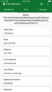 TurtleCoin Mining Pool Monitor screenshot 2