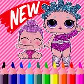 Lol Dolls Coloring Surprise Free icon