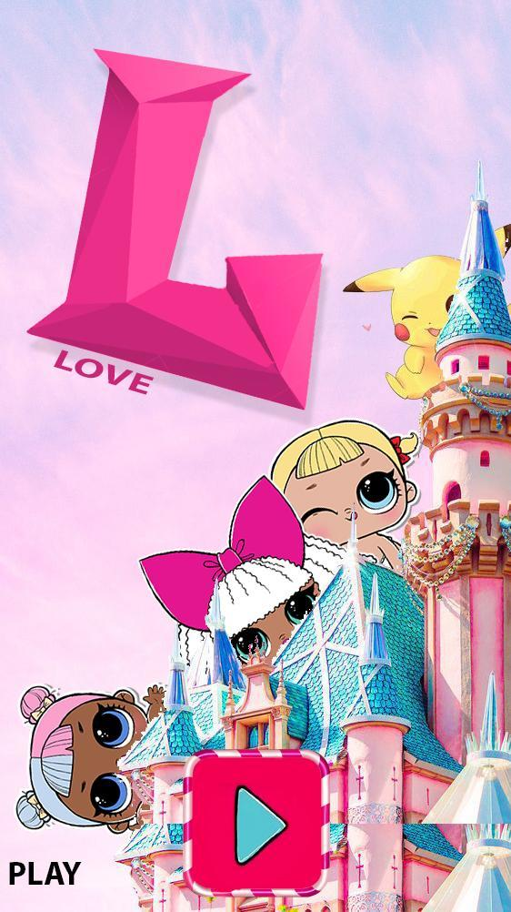 Lol dolls Candy poster