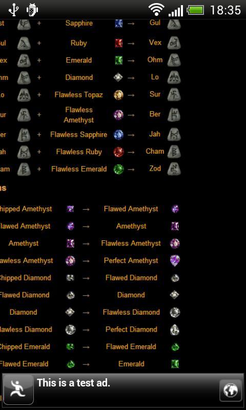 Horadric Recipes For Diablo 2 Apk Download Free Tools