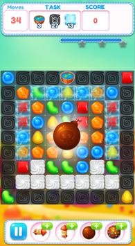 Lollipop Crush Puzzle Match 3 Game poster