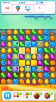 Lollipop Crush Puzzle Match 3 Game screenshot 2