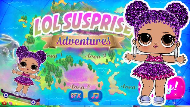Super Surprise Lol Candy ™ - dolls Adventure games poster