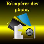 Récupérer des photos icon