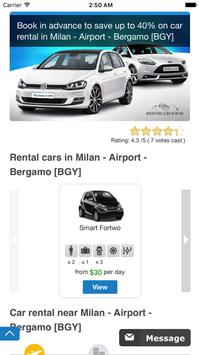 RentalCars24h - Car hire App   Cheap & Best Prices poster
