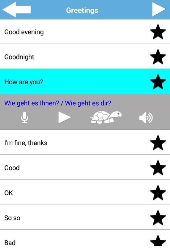 Learn basic german everyday conversation phrases for android apk learn basic german everyday conversation phrases screenshot 7 m4hsunfo