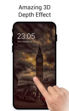 London Big Ben Fog City Live 3D Wallpaper poster