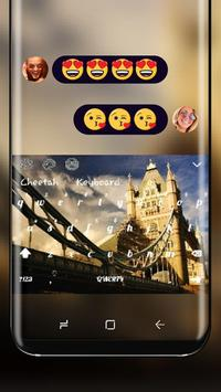 UK Big Ben Theme London Keyboard poster