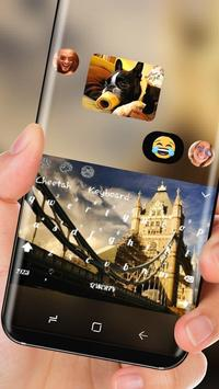 UK Big Ben Theme London Keyboard apk screenshot