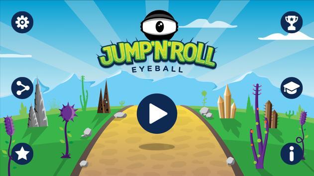 Jump'n'Roll Eyeball poster