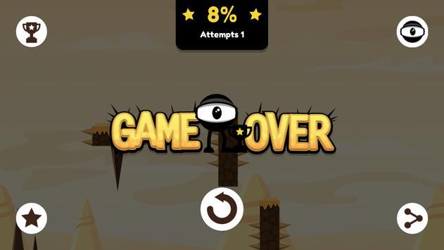 Jump'n'Roll Eyeball apk screenshot