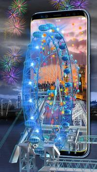 3D London Eye Ferris wheel Theme screenshot 1