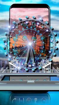 3D London Eye Ferris wheel Theme screenshot 2