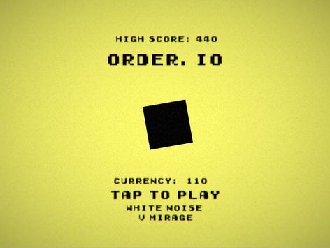 Order.IO MIRAGE poster