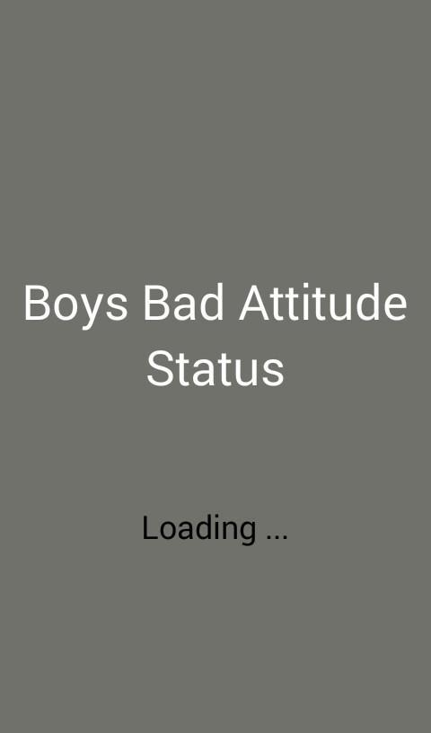 Bad Boy Attitude Status For Android Apk Download